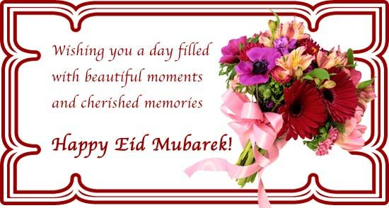 May the blessings of Allah fill your life with happiness and open all the doors of success now and always. Eid Mubarak to all my beloved family and friends!!!