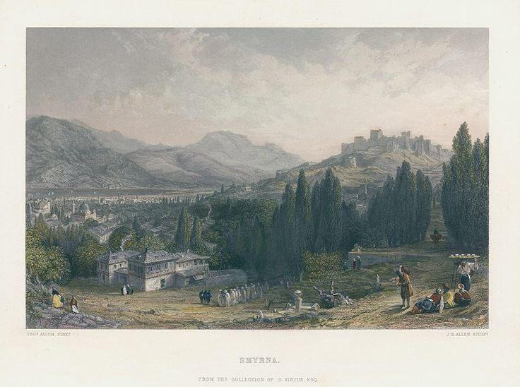 Turkey, Smyrna (Izmir), after Allom, 1863