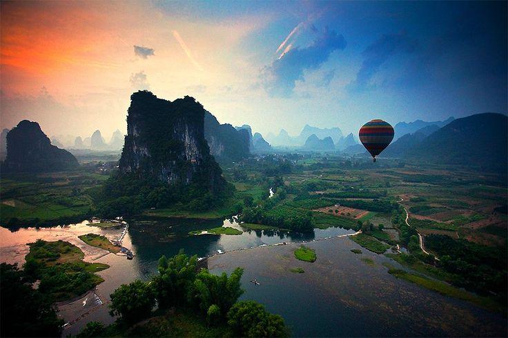 Condado de Yangshuo, China