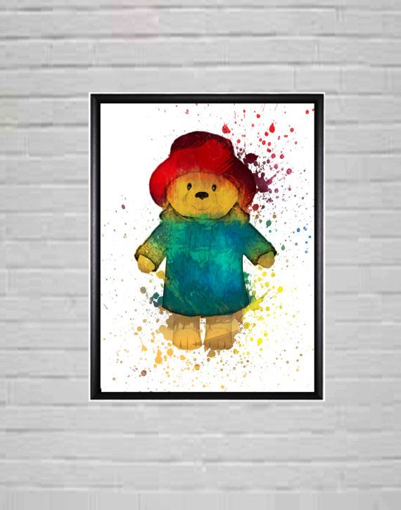 Teddy Bear  Teddy Bear Prints  Teddy Bear Nursery by DaniJArts