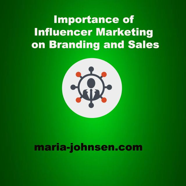 Importance of Influencer Marketing on Branding and Sales  | Multilingual SEO Blog