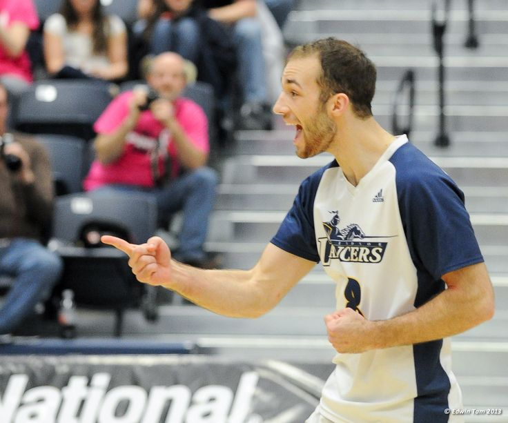 Ryan Leknois, 2012-13 Men's Volleyball, Credit: Edwin Tam