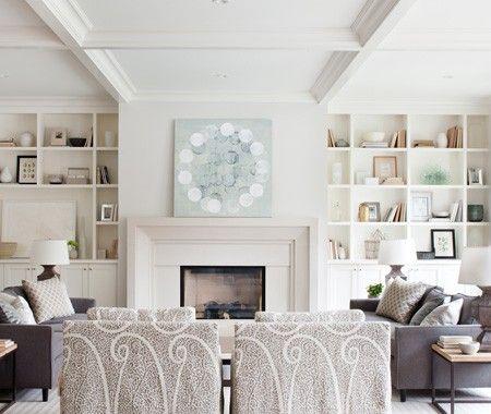 Bright & Casual Living Room | photo Barry Calhoun |design Kelly Deck | House & Home