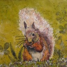 This open edition Red Squirrel print is mounted and signed by the artist. The prints are produced by the Giclée printing method. http://www.marketdirect.ie/red-squirrel-print
