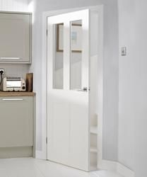 Burford 4 Panel 2 Light Glazed | Internal Moulded Panel Doors | Doors & Joinery | Howdens Joinery