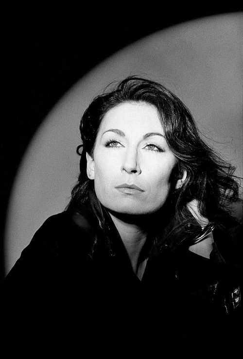 Anjelica Huston photographed by Johnny Rozsa