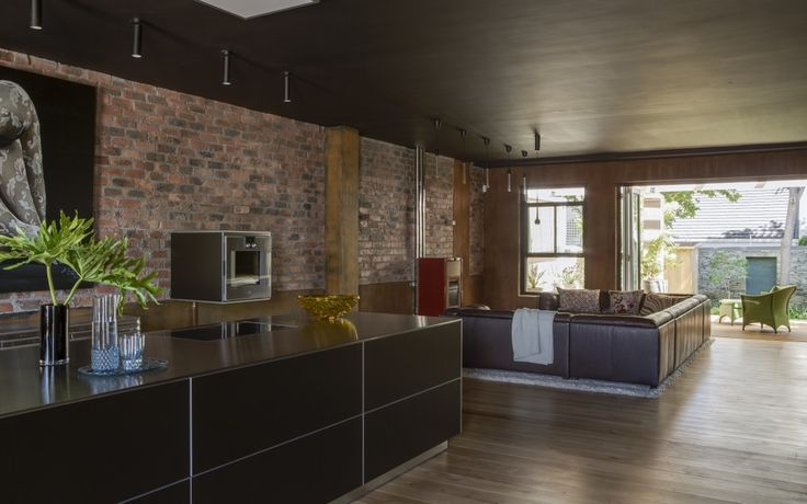 Alphen Awakened - open plan kitchen and living that flows effortlessly to outside