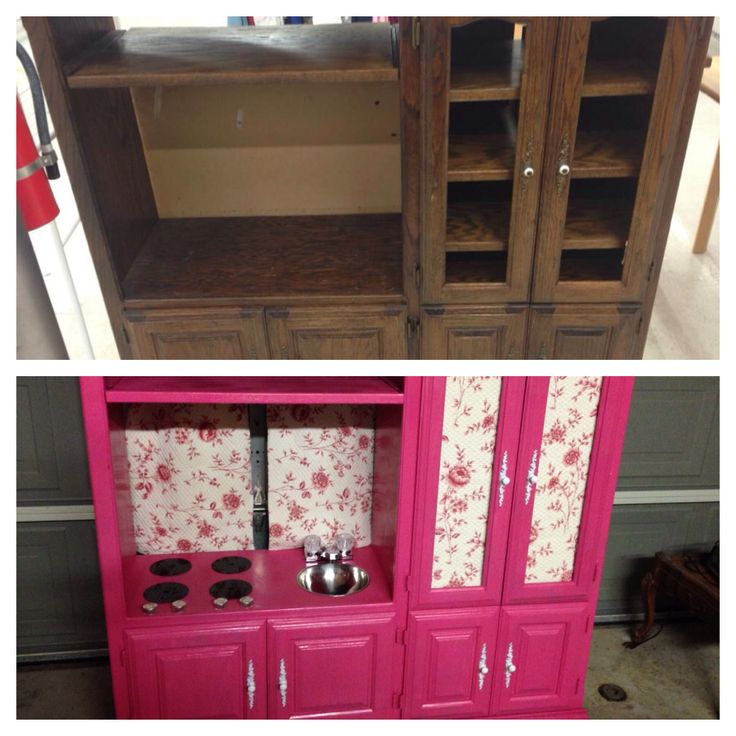 31 best images about diy play kitchen on pinterest for Kitchen set for 8 year old