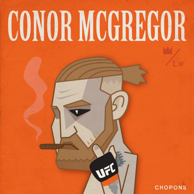 The NOTORIOUS Conor Mcgregor - illust by CHOPONS
