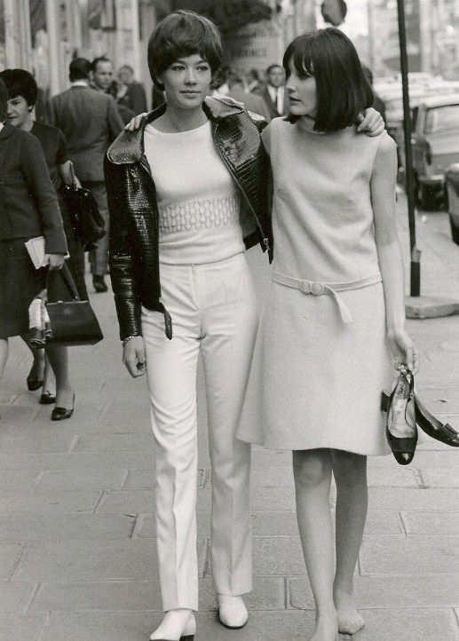 Françoise Hardy and Sandie Shaw, 1966