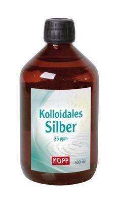 Kolloidales Silber gilt als ein Heilmittel aus der alternativen Naturmedizin, de… Hermine Schäfer