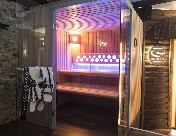 Sauna Comfort Line z przeszkleniem frontowym. #sauna #sauny #comfort