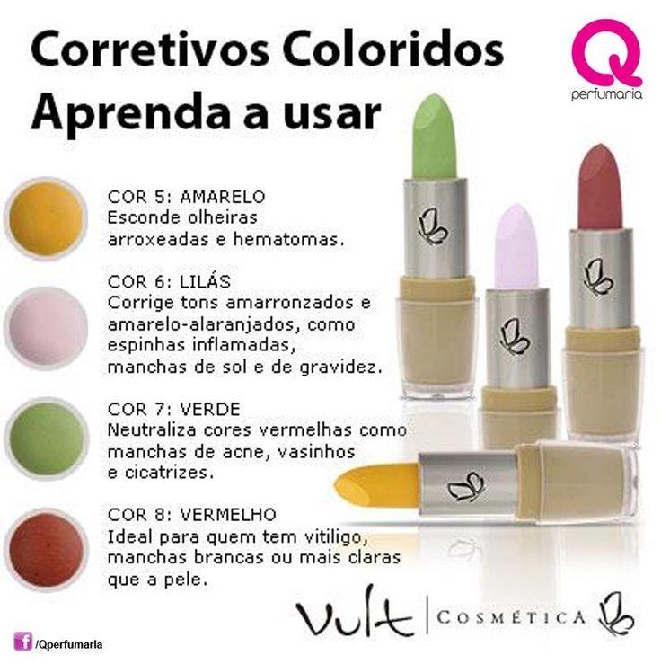 Corretivos coloridos Vult são a mais nova sensação