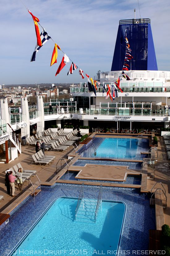 A first look aboard Britannia, P&O's newest and largest cruise ship - and watching her naming ceremony! #britannia #cruiseship #cruise