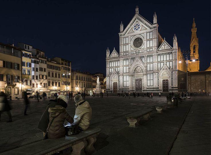 iGuzzini | Facciata di Santa Croce, Firenze, Italia | Urban | Products used: Woody