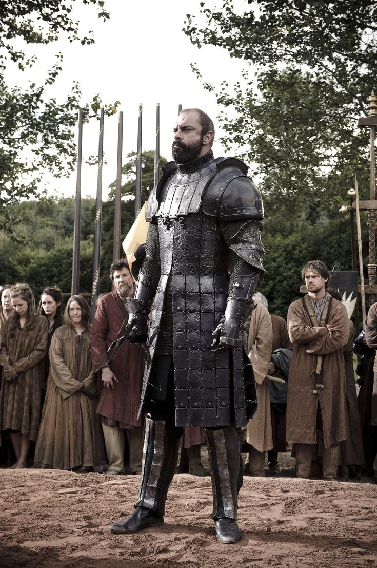 Ser Gregor Clegane, the giant, fearsome knight sworn to ...