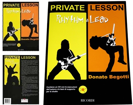 """""""Private Lesson: Rhythm & Lead"""" by Donato Begotti - Credits: Mixing, Mastering, Production assistant - Release Year: 2005"""