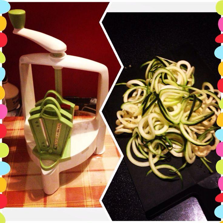 Spiralo + courgette = courgetti