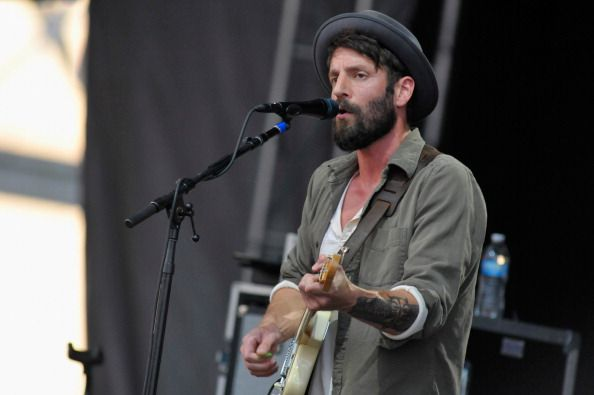 Ray LaMontagne performs during the 2014 Forecastle Music Festival at Louisville Waterfront Park on July 20 2014 in Louisville Kentucky