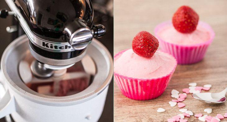 Tipps und Tricks: Eis selber machen mit der Eismaschine von Kitchenaid / ice cream maker