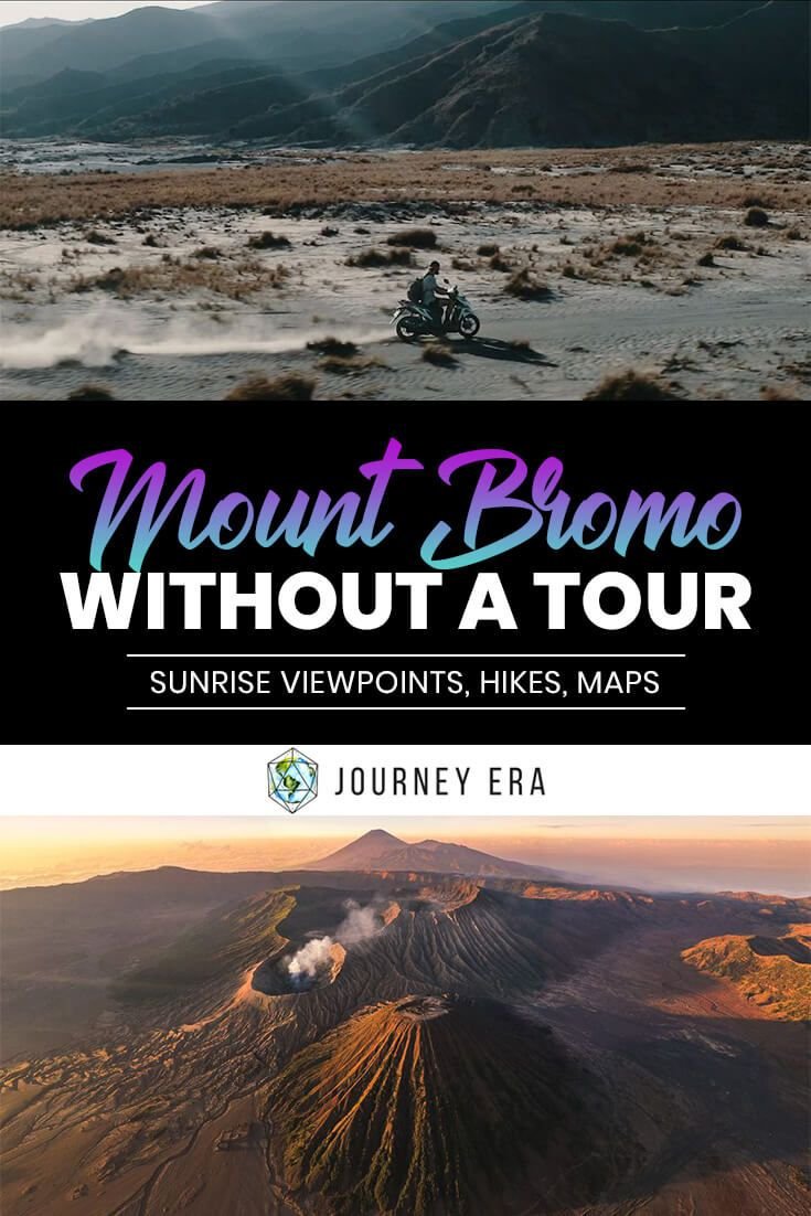 MOUNT BROMO WITHOUT A TOUR: SUNRISE VIEWPOINTS, HIKES, MAPS