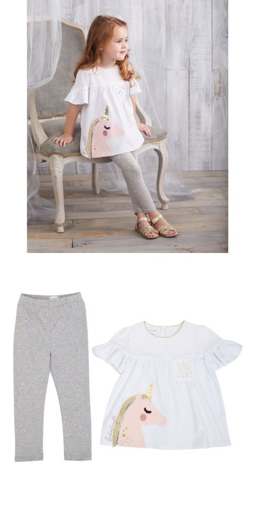 d8ed61c2a Outfits and Sets 147211: Mud Pie E8 Baby Toddler Girl Unicorn Tunic And Legging  Set 1112388 Choose Size -> BUY IT NOW ONLY: $43.99 on eBay!