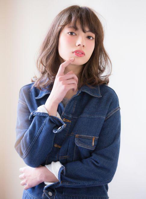アンニュイカールで大人ミディ 【aRietta】 http://beautynavi.woman.excite.co.jp/salon/27794?pint ≪ #mediumhair #mediumstyle #mediumhairstyle #hairstyle・ミディアム・ヘアスタイル・髪形・髪型≫