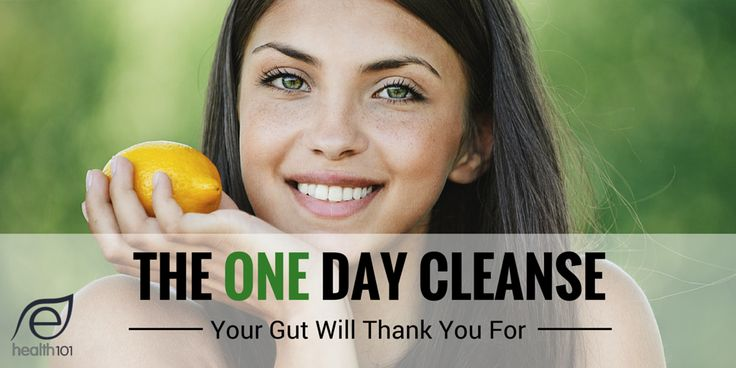 The One Day Cleanse Your Gut Will Thank You For