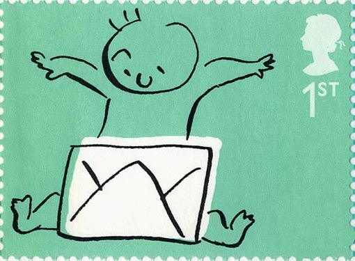 Baby Stamp by Satoshi Kambayashi