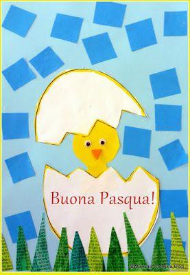 Maestra Caterina: Lavoretto e poesia di Pasqua