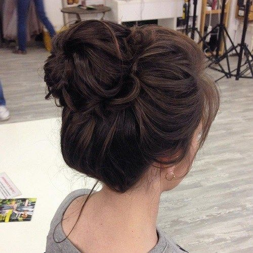118 best bun hairstyles for women images on pinterest cute bun hairstyles 12 urmus Image collections