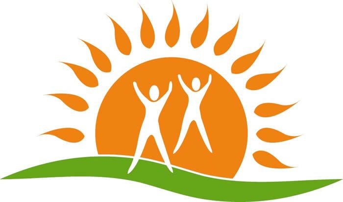 people and sun logo