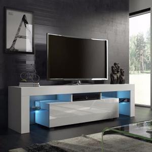 Meuble TV Blanc de la maison simple moderne