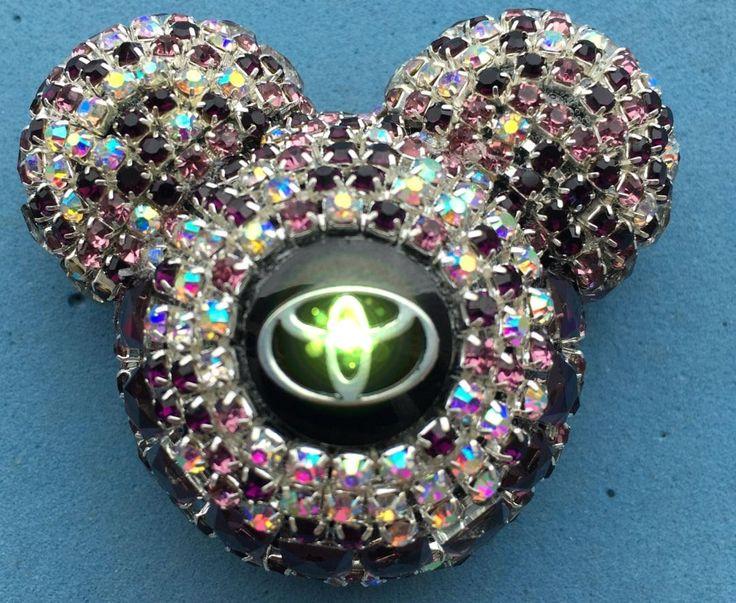 Con el logotipo de automóviles clip de perfume Automóvil styling decoración Lady diamond Miki Perfume Sólido ambientador Perfumes 100 Original