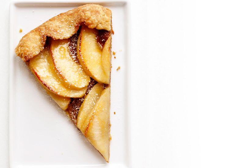 Apple-Walnut Galette recipe from Food Network Kitchen via Food Network