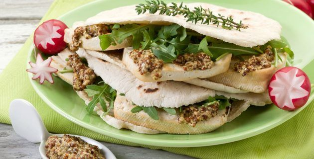 Piccole Ricette – Panino vegano al tofu