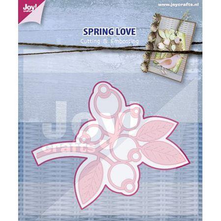 """Нож для вырубки и тиснения """"Весна время любви"""", 1 шт. ― HOBBYBOOM"""