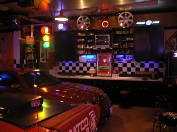 Classic Man Cave Yuma : Garage man cave ideas mopar updated pics