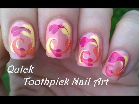 25 trending toothpick nail art ideas on pinterest diy nails easy toothpick nail art for beginners colorful nails idea prinsesfo Gallery