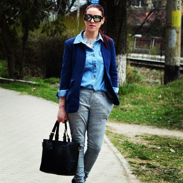 #outfit #fashion #denimlook #zara