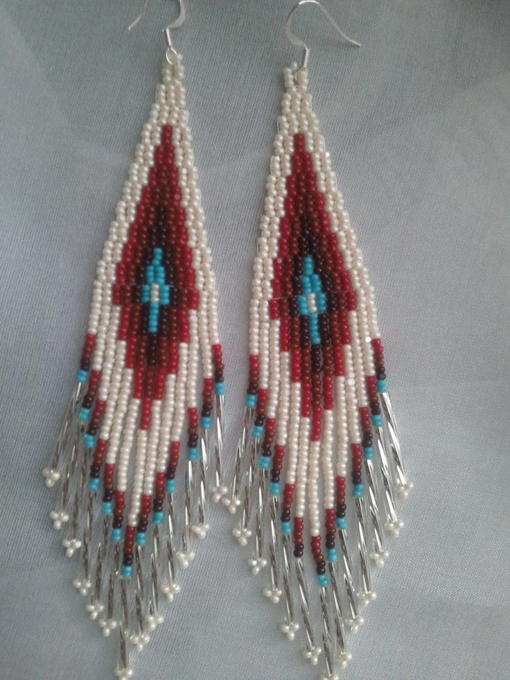"""Native Dancers Earrings """"Catawba Dreams"""". $35.00, via Etsy."""