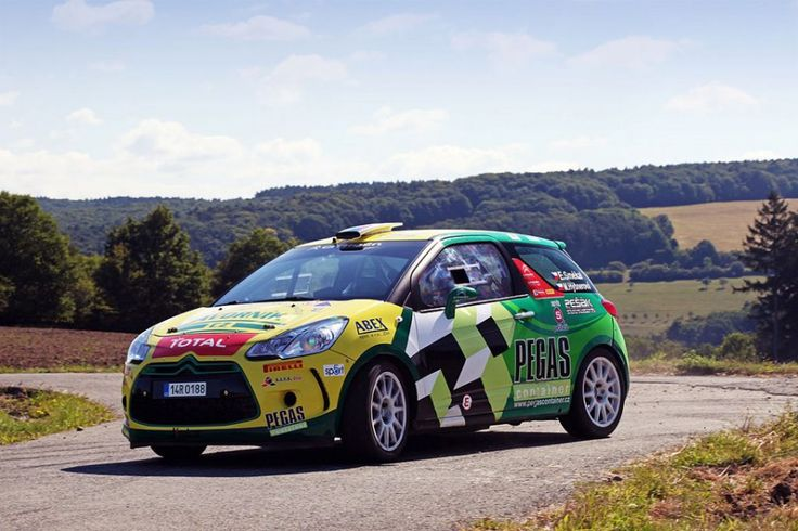 Bens Sport - Egon Smékal (Citroen DS3) - design and wrap.
