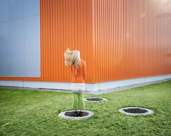Photographer Blends People Seamlessly Into Colorful Backgrounds