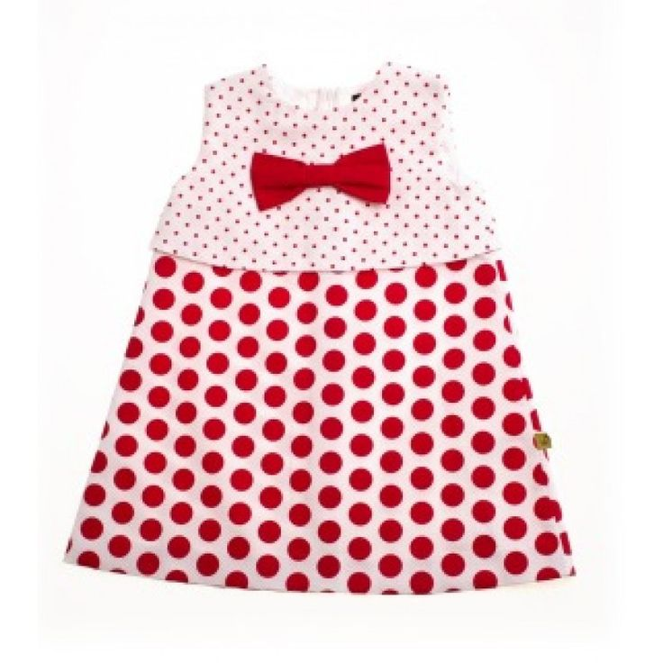 Love Red Dotty Dress