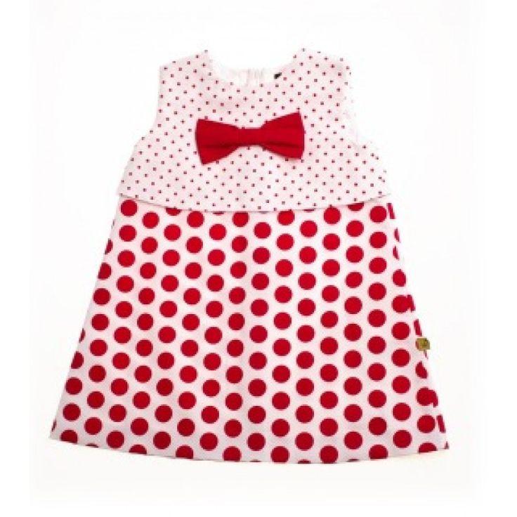 Love Red Dotty Dress