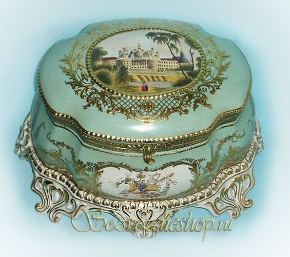 My Aunt Donna had one like this and it  was also a music box...