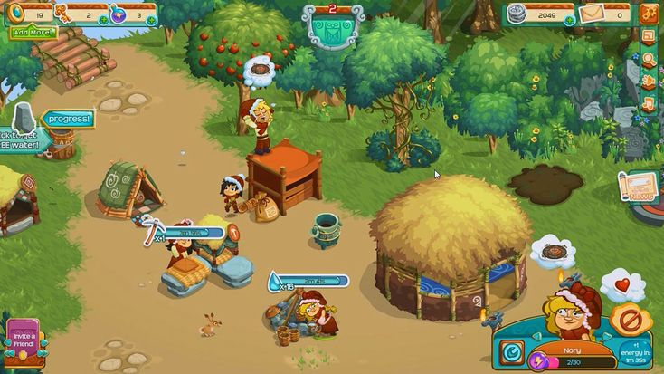 Village Life is a free to play, Facebook social game, city-building (village-building) and life simulation, from Playdemic.