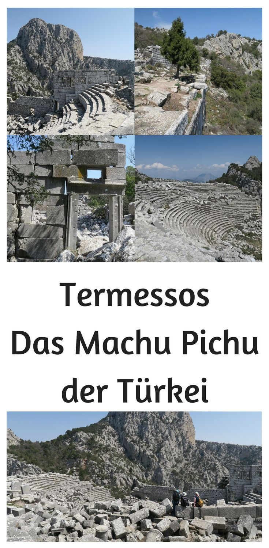 Die Ruinen von Termessos sehen, der unneinnehmbaren Festungsstadt in der Bergen des Taurusgebirges nahe Antalya. Selbst Alexander der Große konnte die Stadtmauern von Termessos nicht überwinden: http://www.tuerkeireiseblog.de/termessos/
