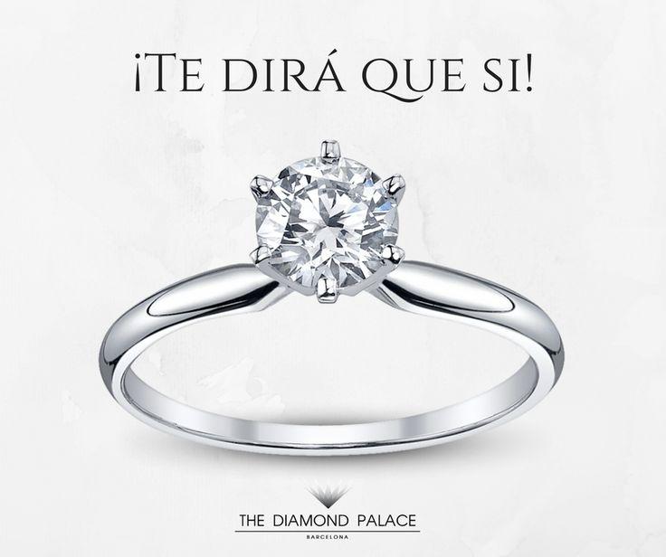 #anillodecompromiso #diamante #diamantes #barcelona #bcn #barna #lujo #anillodediamante #anillocondiamante #solitario #engagementring #diamondring #solitaire #thediamondpalace #luxury #diamond #diamonds #boda #regalo #wedding #engagement