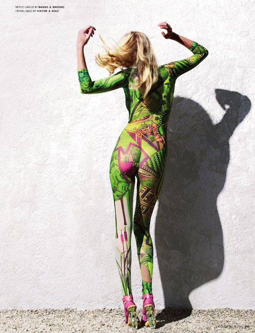 Lara Stone | Horst Diekgerdes | AnOther Magazine S/S2007 - SensualityNews.com - Fashion Editorials, Art & Sensual Living